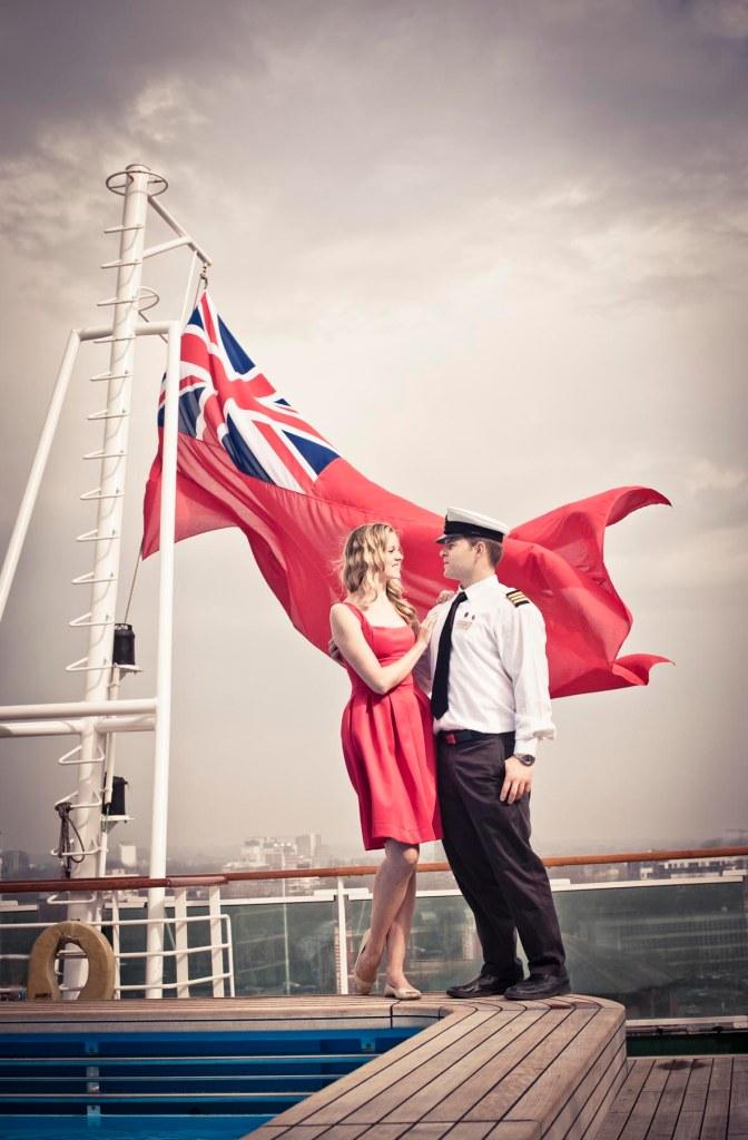 cruise ship engagement shoot; wedding pre-shoot Ventura