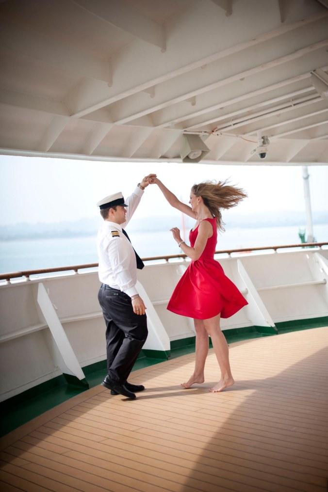 wedding pre-shoot cruise ship
