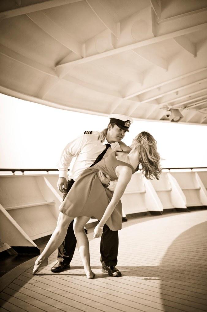 cruise ship engagement portraits