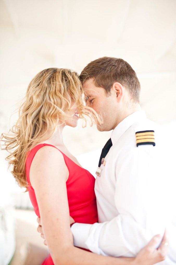 wedding pre-shoot; cruise ship real love wedding