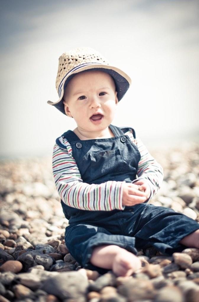 retro baby beach shots; brighton beach 50's style