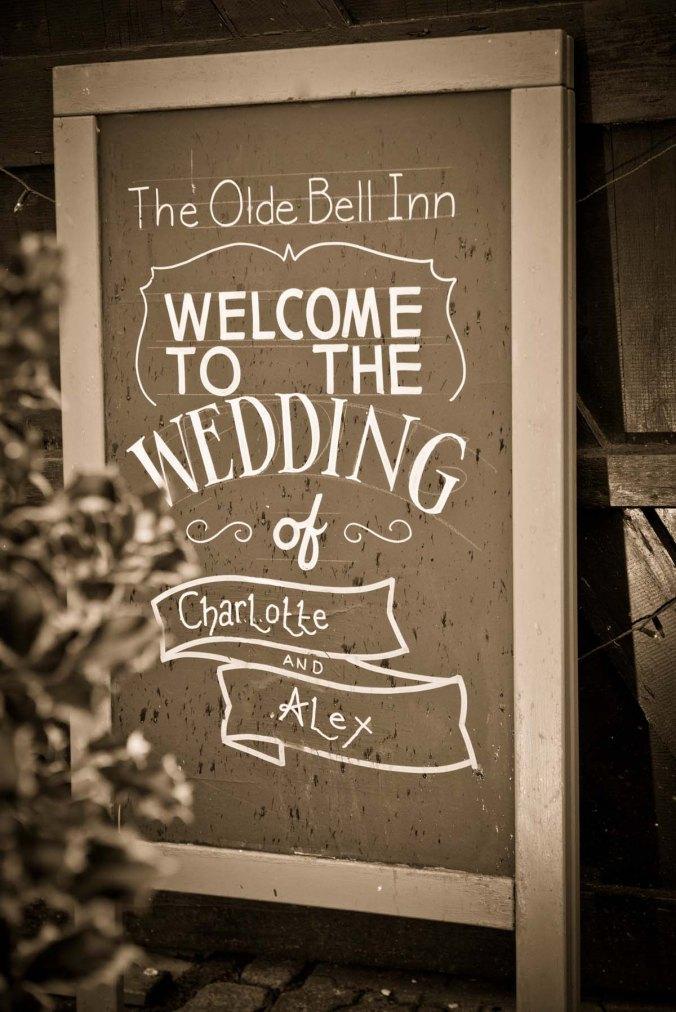 Wedding Hurley Olde Bell Inn
