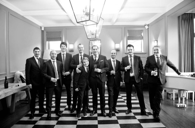 groomsmen; olde bell inn; hurley; wedding