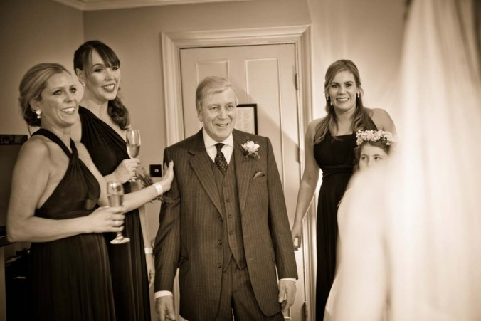 father of the bride; the olde bell inn; wedding