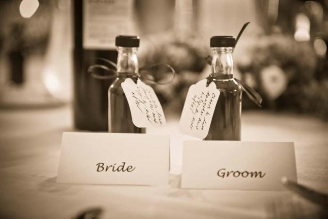 wedding favours; olde bell inn; hurley