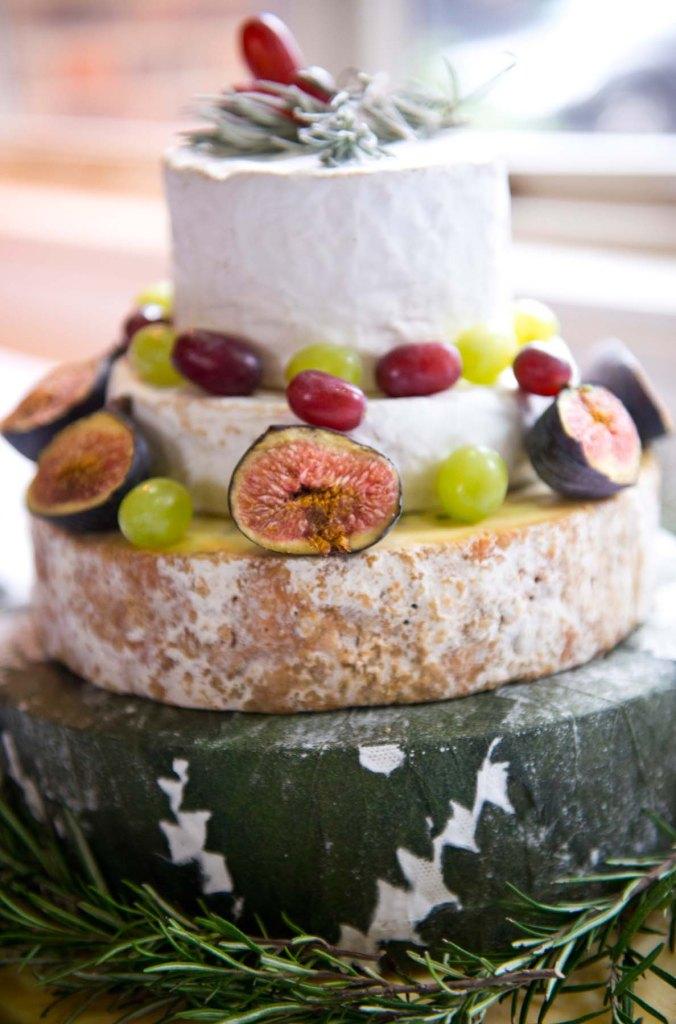 wedding cheese cake; the olde bell inn; hurley