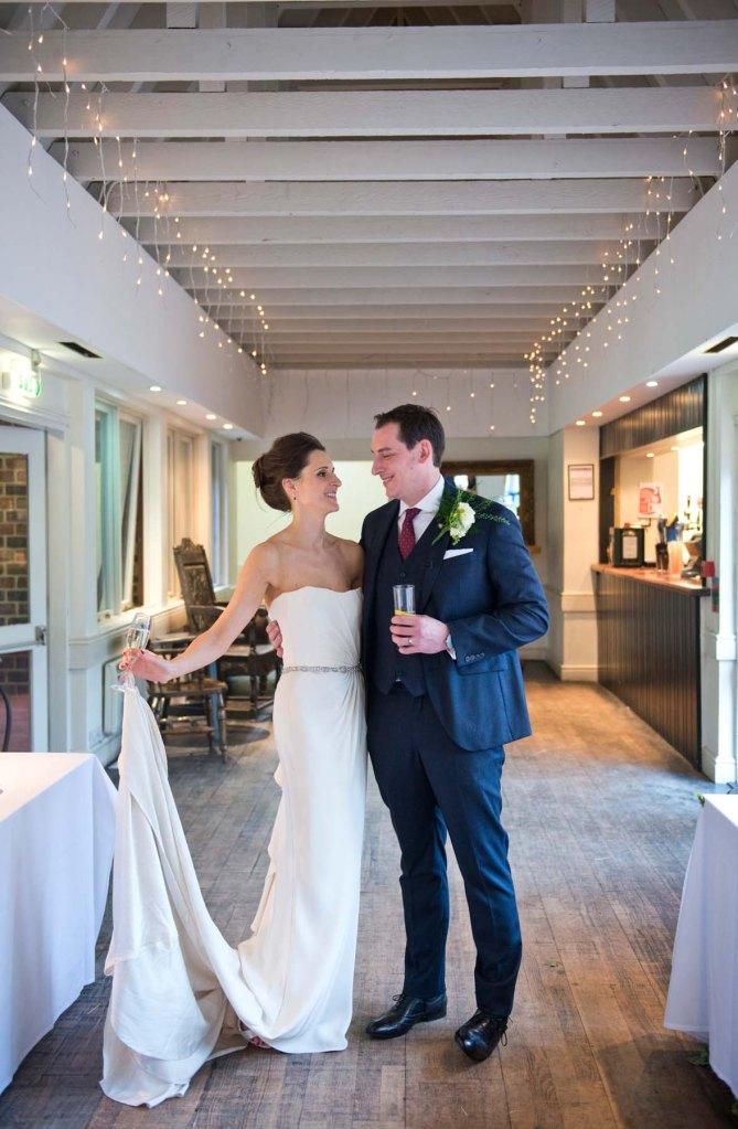 wedding; olde bell inn; hurley; bride