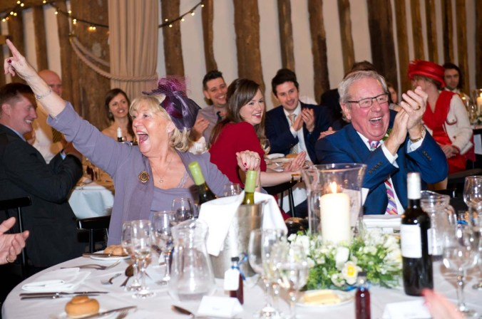 wedding speech; olde bell inn; hurley