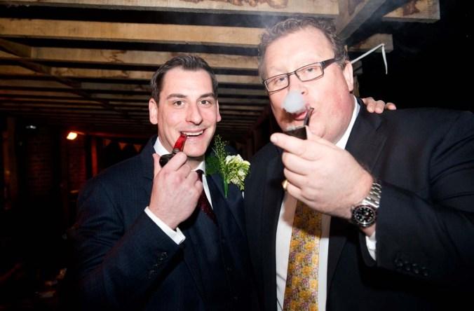 pipe smokers; wedding; olde bell; hurley
