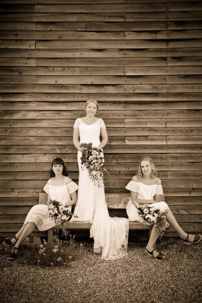 """""""bride and bridesmaids"""""""