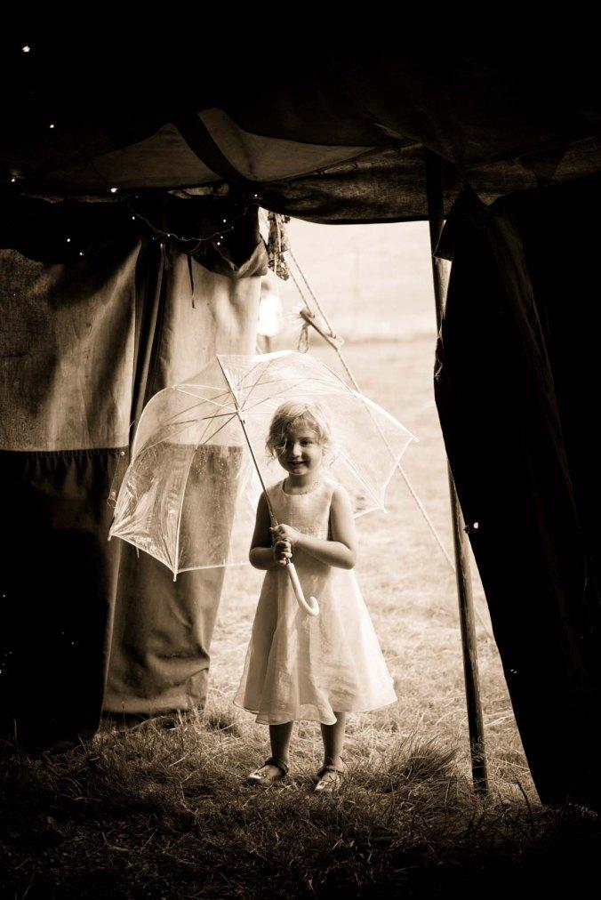 """wedding guest in tent"""
